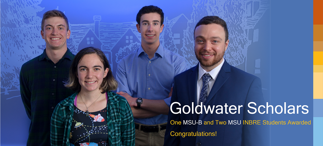 Three 2019 Montana INBRE Goldwater Scholarships Awarded