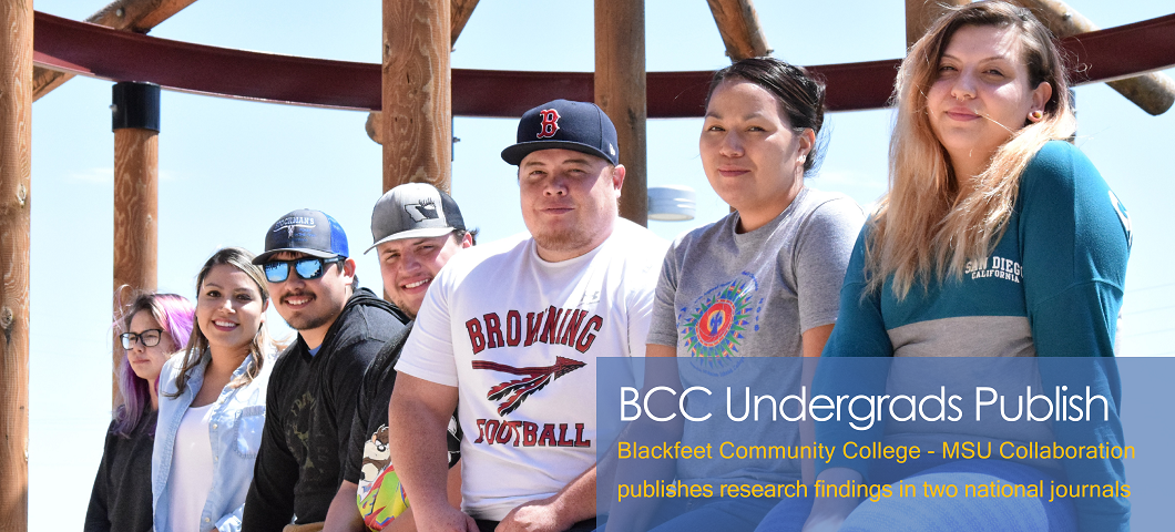 A collaboration between Blackfeet Community College and Montana State University involving tribal college students investigating the health effects of stress on Native American communities has published a paper in Annals of Behavioral Medicine.